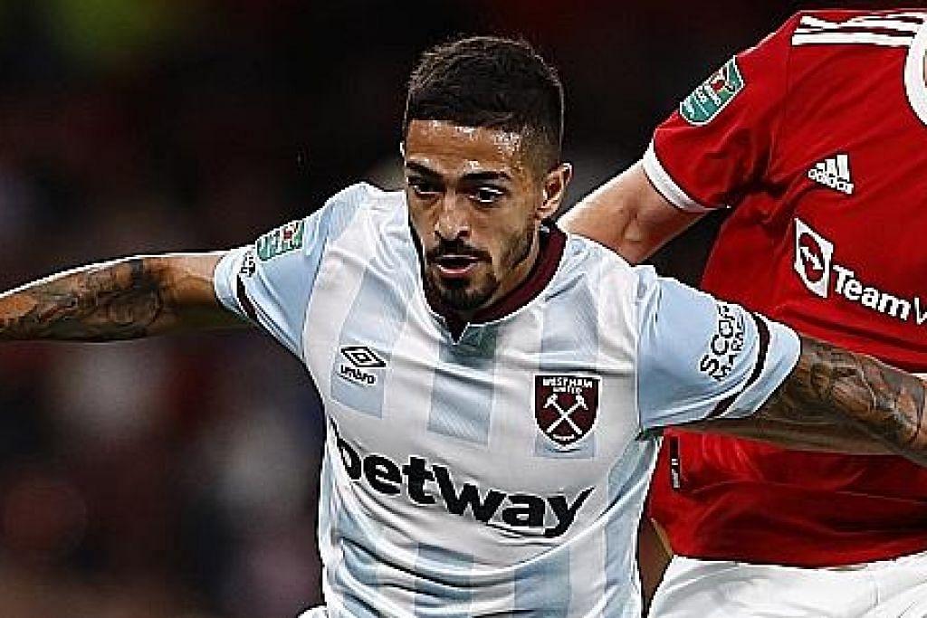 West Ham tebus kekalahan dengan tewaskan Man United