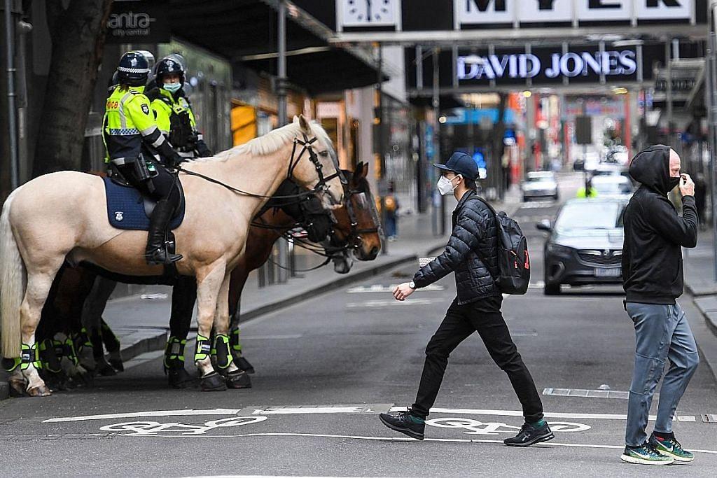 Victoria catat kes harian tertinggi sedang Melbourne hadapi bantahan antisekatan