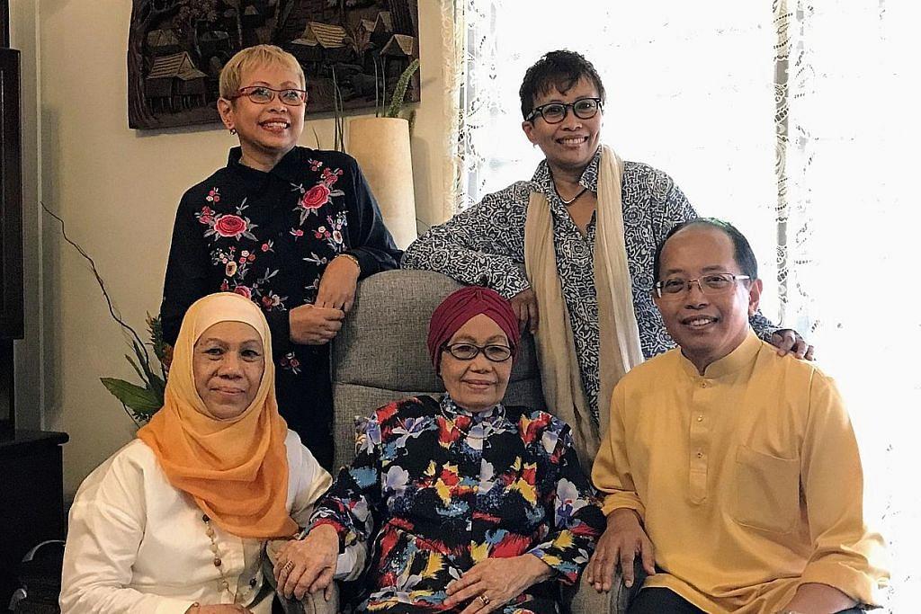 Isteri mantan Presiden Muis Ridzwan Dzafir meninggal dunia