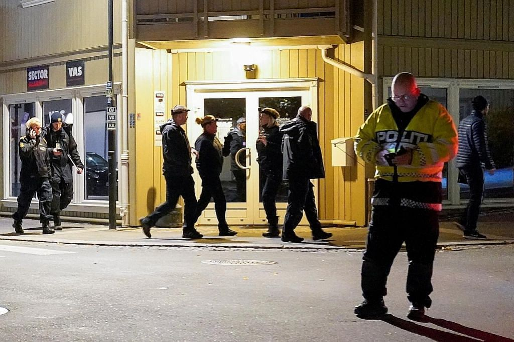 Lelaki bunuh 5 orang dalam serangan busur dan panah di Norway