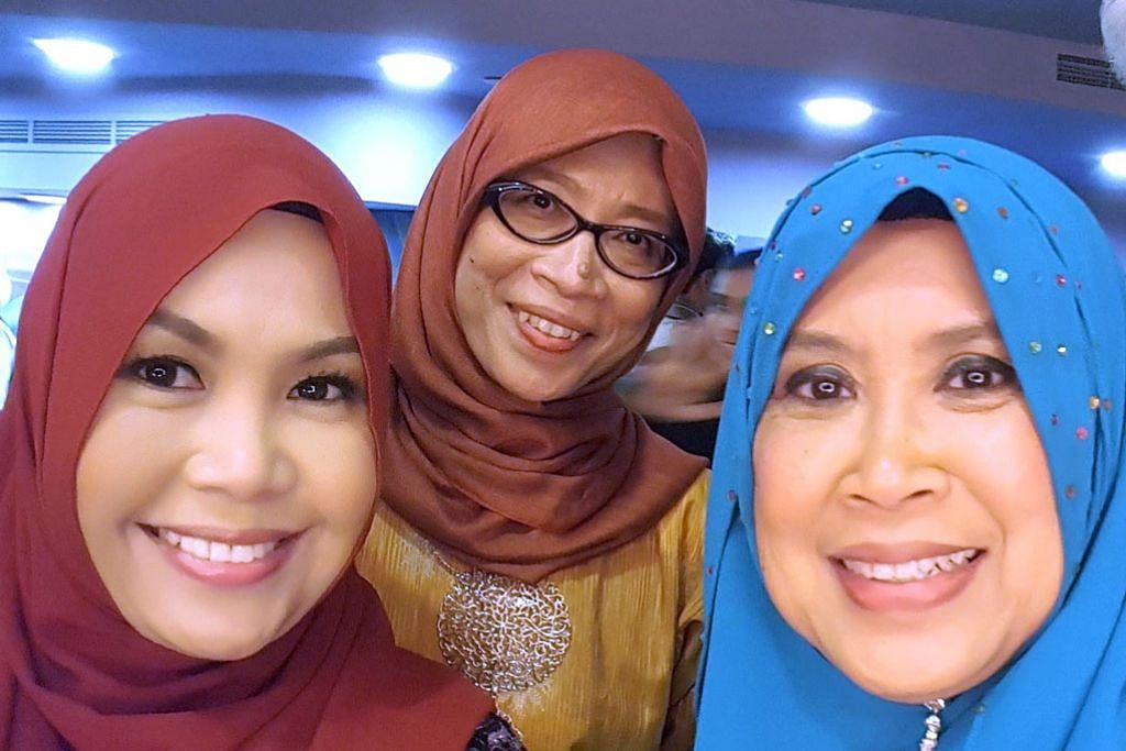 Tiga wanita peneraju TV Melayu S'pura