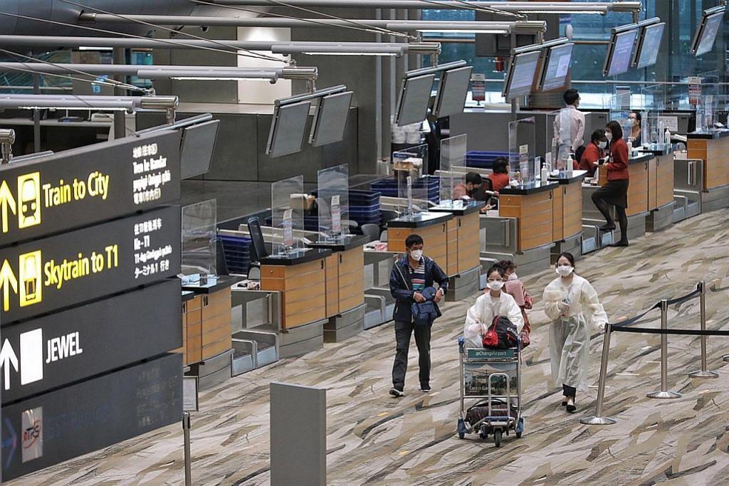 Lapangan Terbang Changi dijangka lebih 'sibuk'...