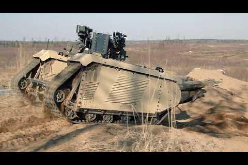 BVLOS UGV Combat oleh Milrem Robotics and ST Engineering